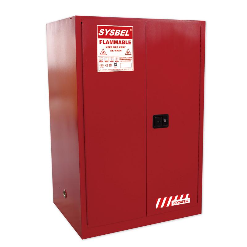 SYSBEL/西斯贝尔 WA810860R 可燃液体防火安全柜/化学品安全柜(90Gal/340L)红