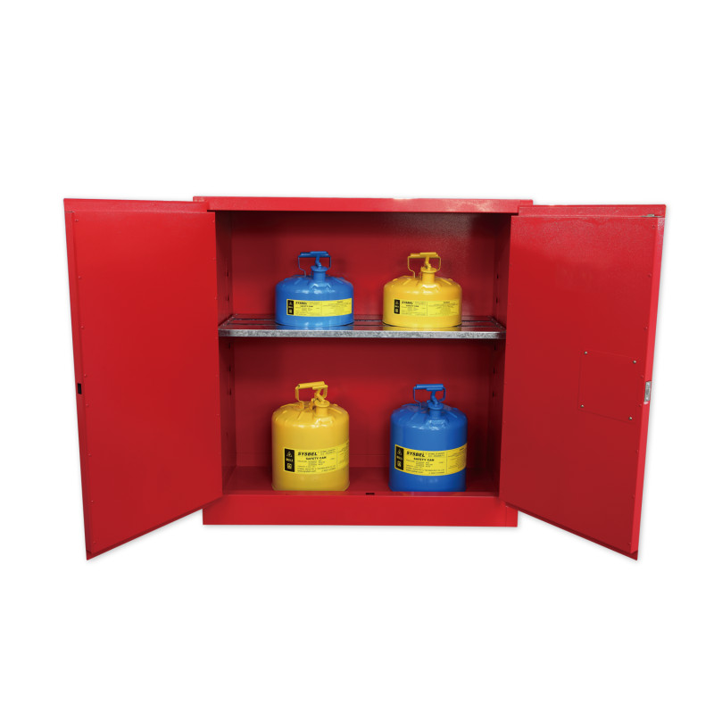 SYSBEL西斯贝尔WA810300R 可燃液体防火安全柜/化学品安全柜(30Gal)