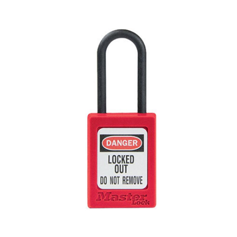 玛斯特S32KA耐腐蚀工程塑料安全锁-紫