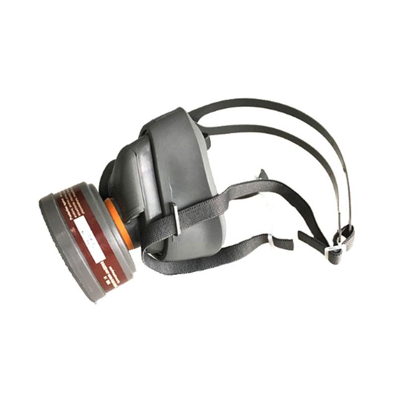 思创ST-FDB防毒半面具(橡胶)含3号滤毒盒
