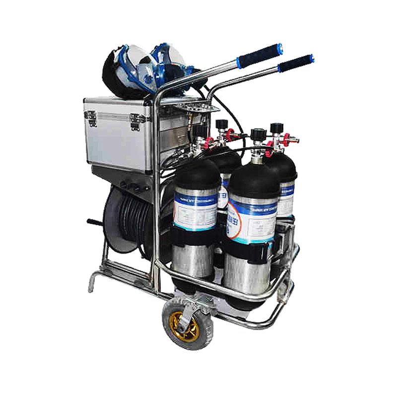 海固CHZK4/6.8F/30移动供气源车载式空气呼吸器(4瓶双人)