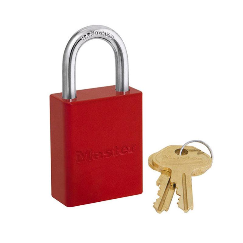 玛斯特 6835MCNRED 铝合金安全锁