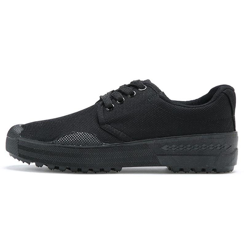 百劳汇121-005黑色作训鞋