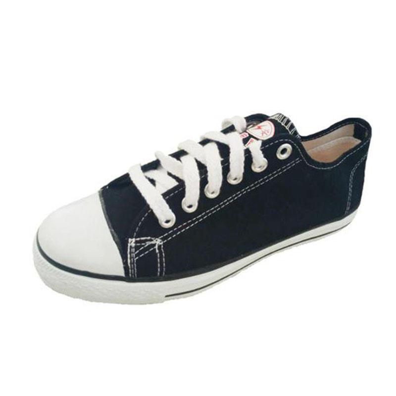 双安 AB102 10KV绝缘鞋低帮黑色布鞋