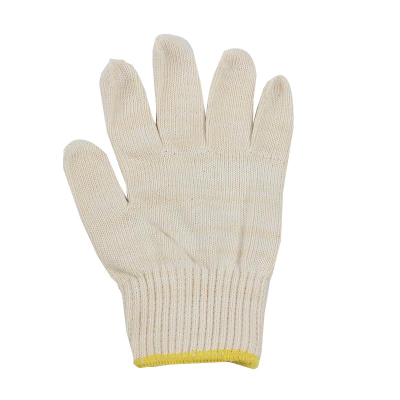 SAFEMAN君御 71005C 500克白兔纯棉线手套(21支纱)