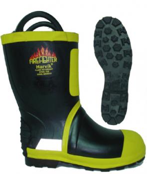 雷克兰9692 消防战斗靴 8码