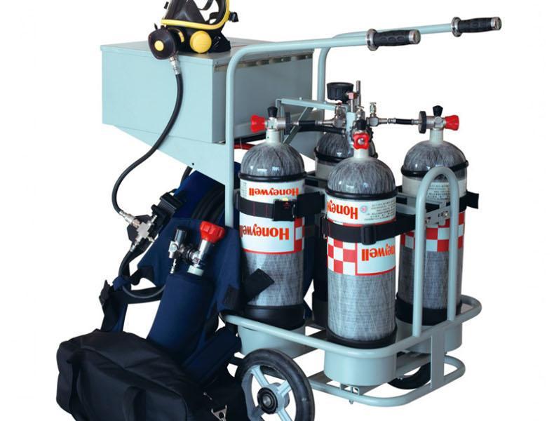 霍尼韦尔BC1766013 移动小车标准型 含逃生装置 不含腰带供气系统 不含气瓶