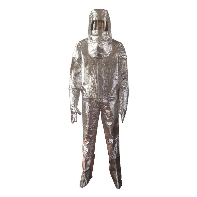 劳卫士LWS-001铝箔分体隔热服 专用头罩面屏