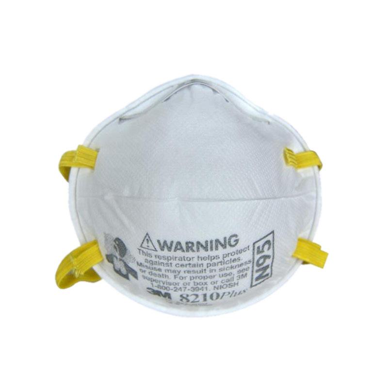 3M 8210(PLUS)头戴式工业防尘口罩(舒适版)