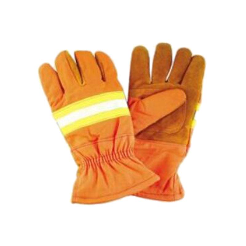 劳卫士XF-LWS-014消防手套(桔红色)