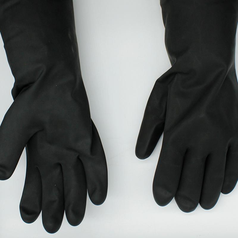 SAFETREE PGLLTX33 黑色工业乳胶手套-10.5