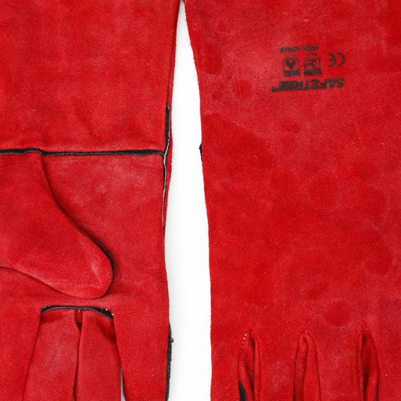 SAFETREE PWG140CC 红色经济款电焊手套-9