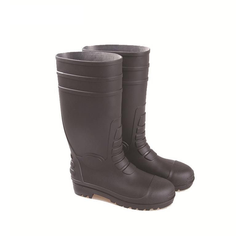 SAFETREE PPVCGB05 加强款防砸钢头钢底工矿靴