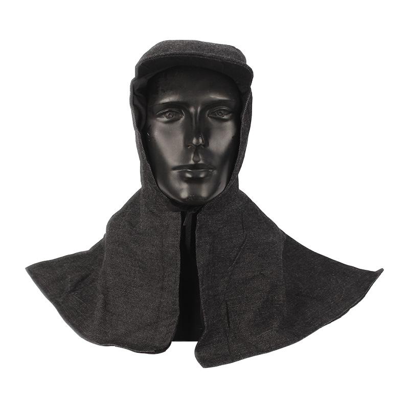 百劳汇3-003牛仔布披肩帽(颜色随机)