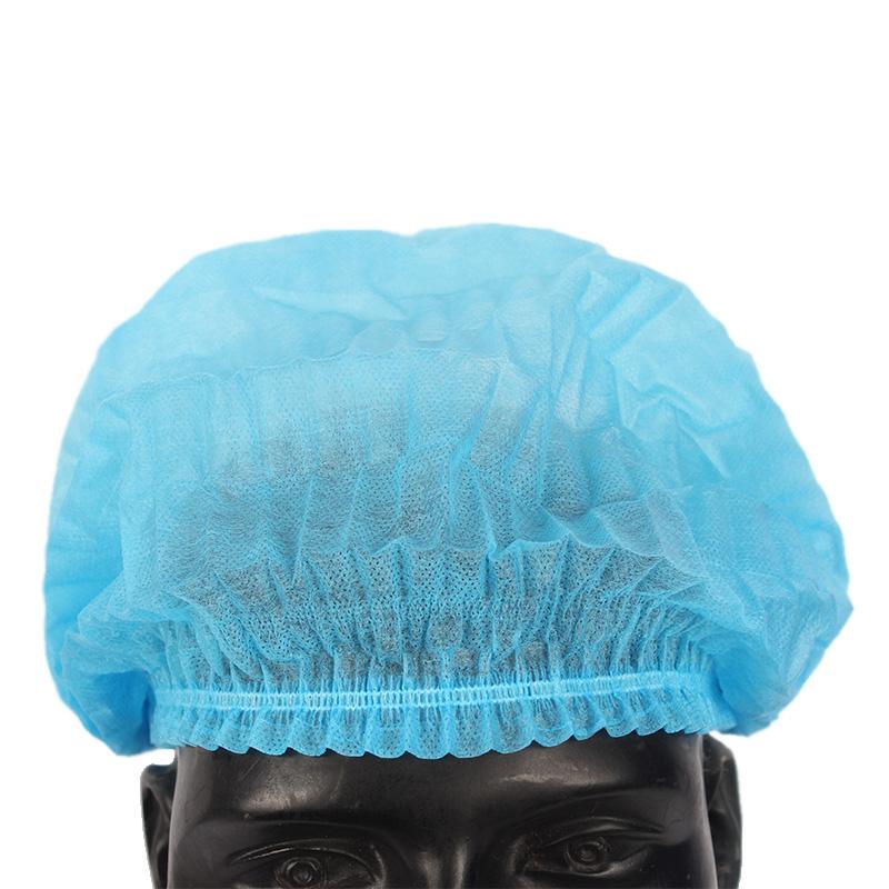 蓝色条形帽