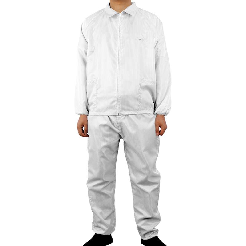 百劳汇86-020白色防静电分体衣180