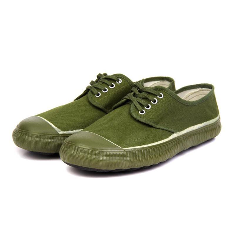 百劳汇121-006黄球鞋 解放鞋-38