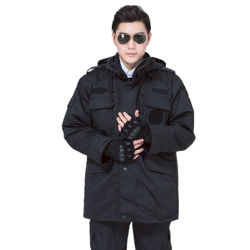 百劳汇95-015保安多功能大衣(中款可拆卸)