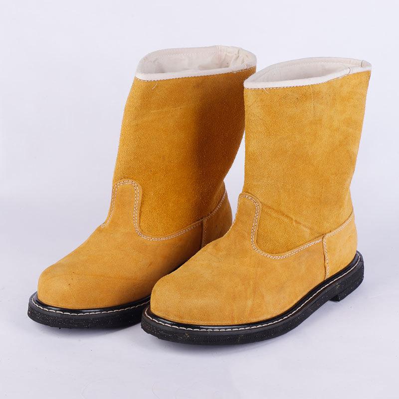 百劳汇76-003劳保靴(高筒黄色)45