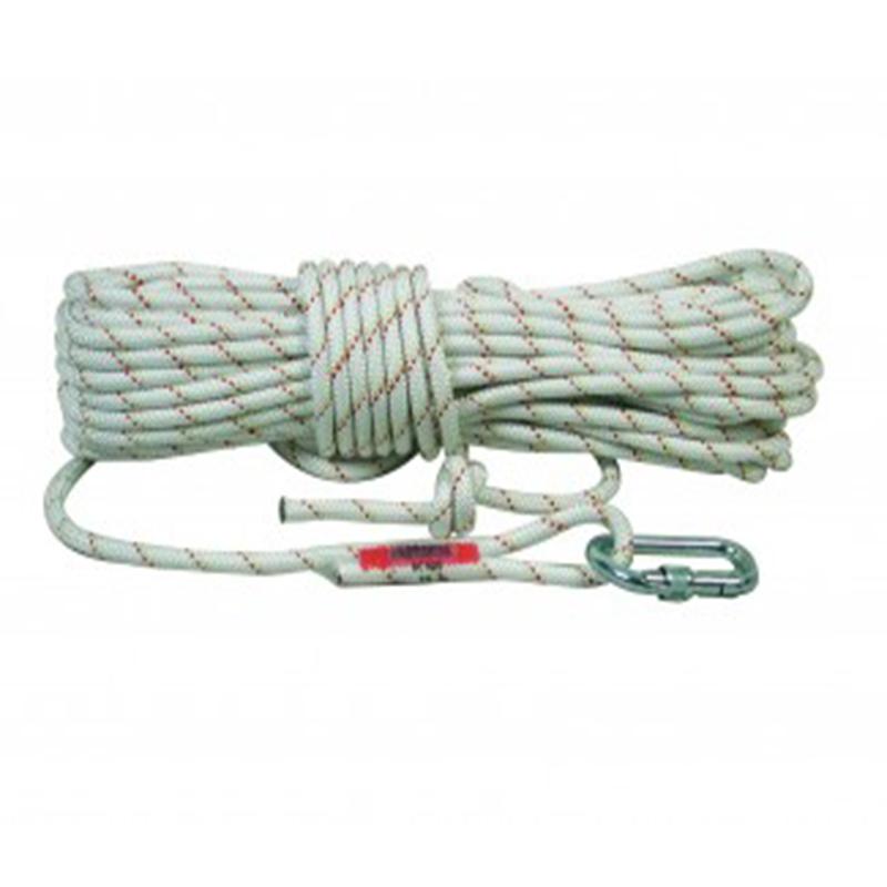 3M 凯比特 AC410夹芯安全绳10.5毫米直径 一端带安全钩长度10米