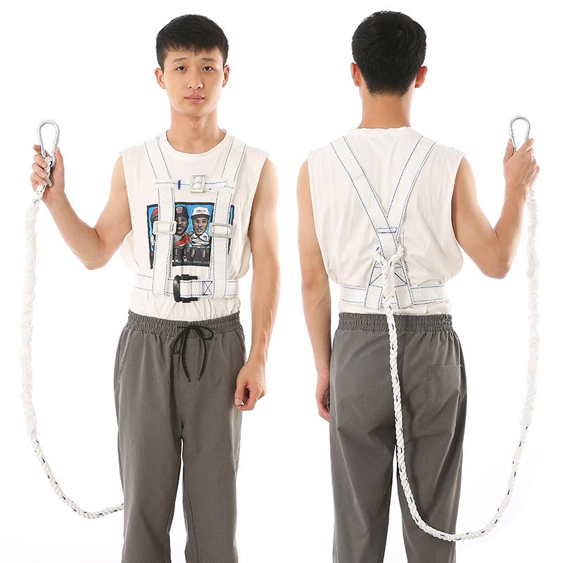 宏建GB-07双背单绳安全带