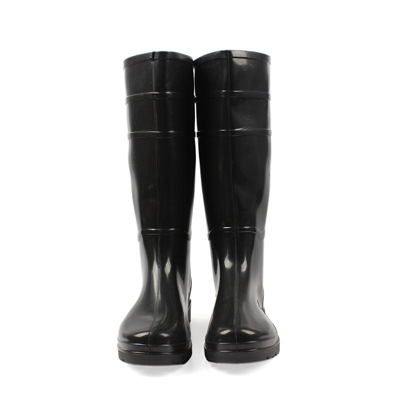 安斯盾高筒水靴 黑色45