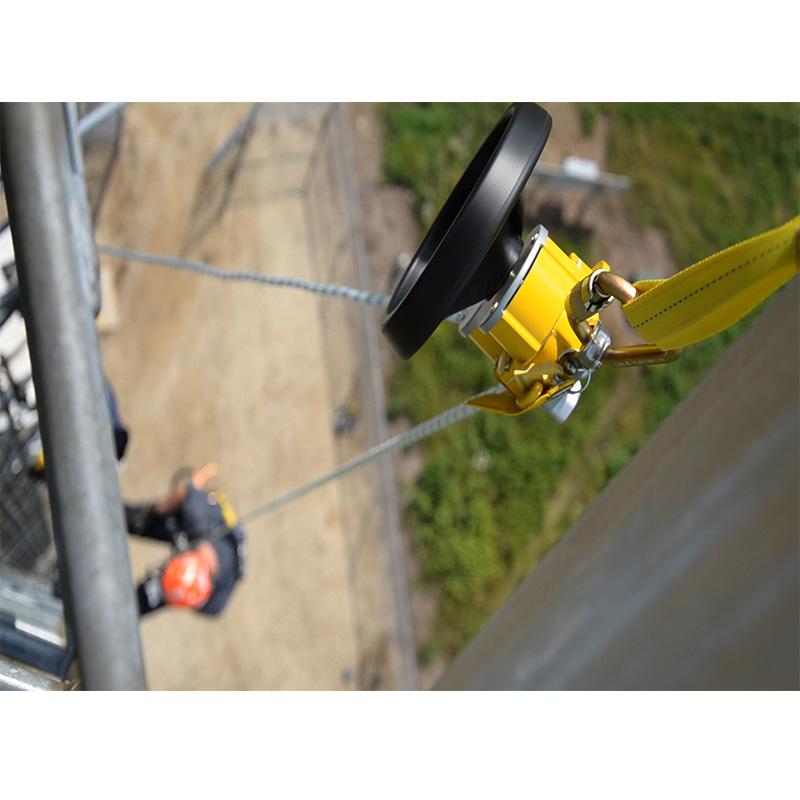 3M 凯比特3327150 R550自动下降逃生装置带救援功能手轮安全绳长度46米配有 安全钩锚点吊带和存储包