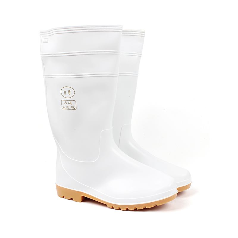 JIDUN HONGJIAN/吉盾 / 宏剑 吉盾高筒水靴 白色