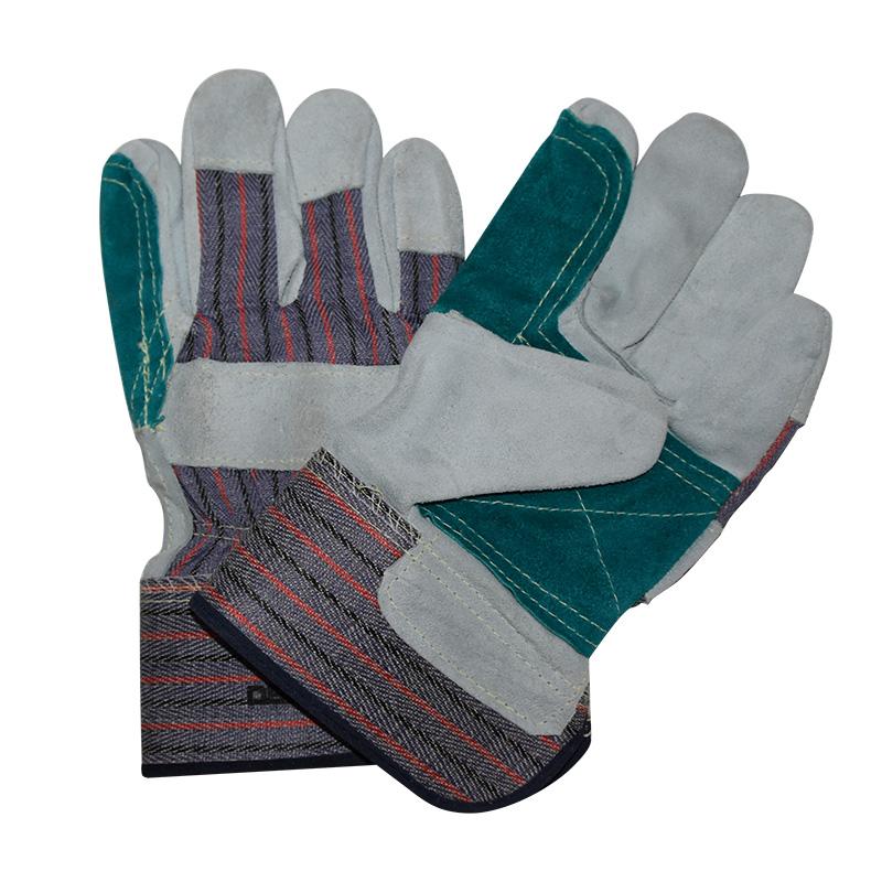 代尔塔204208-10 KEVLAR A级双层牛皮手套 DS208