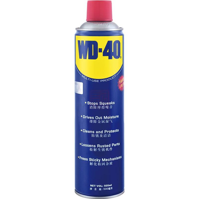 WD-40 86500 用途产品 气雾罐 500ml封面