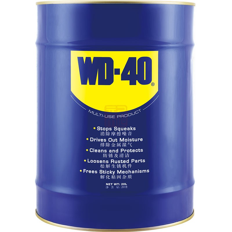 WD-40 86820A 多用途产品 桶装 20L封面