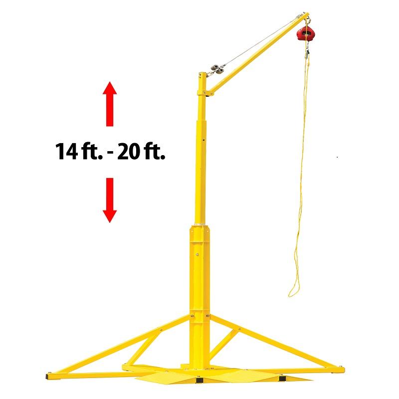 霍尼SORBSYS SkyORB 头顶式可旋转吊臂 锚点系统 含基座 立柱 吊臂 钢缆式能量缓冲器