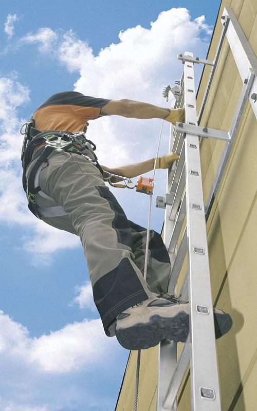 霍尼韦尔VSS/10M Vi-Go不锈钢钢缆爬梯系统 顶部加长型