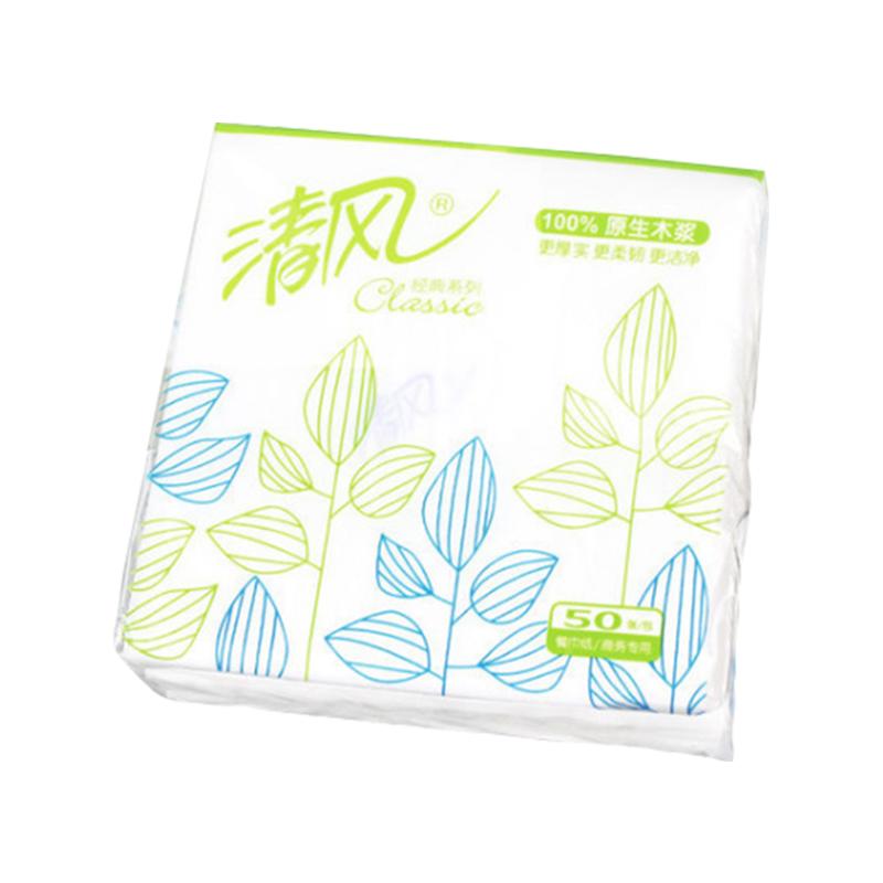 清风B702A 1层50张230餐巾纸
