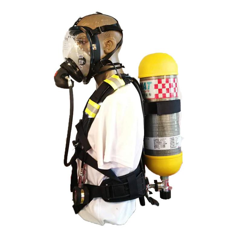 海安特空气呼吸器6.8L 配件全面具(新3C认证)