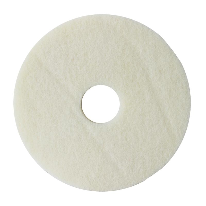 蝴蝶4100白色抛光垫15寸