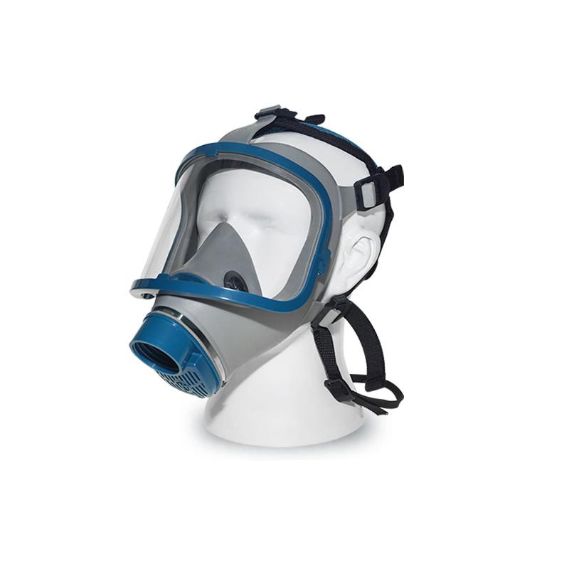 海固HG-911 宝蓝灰硅胶全面罩