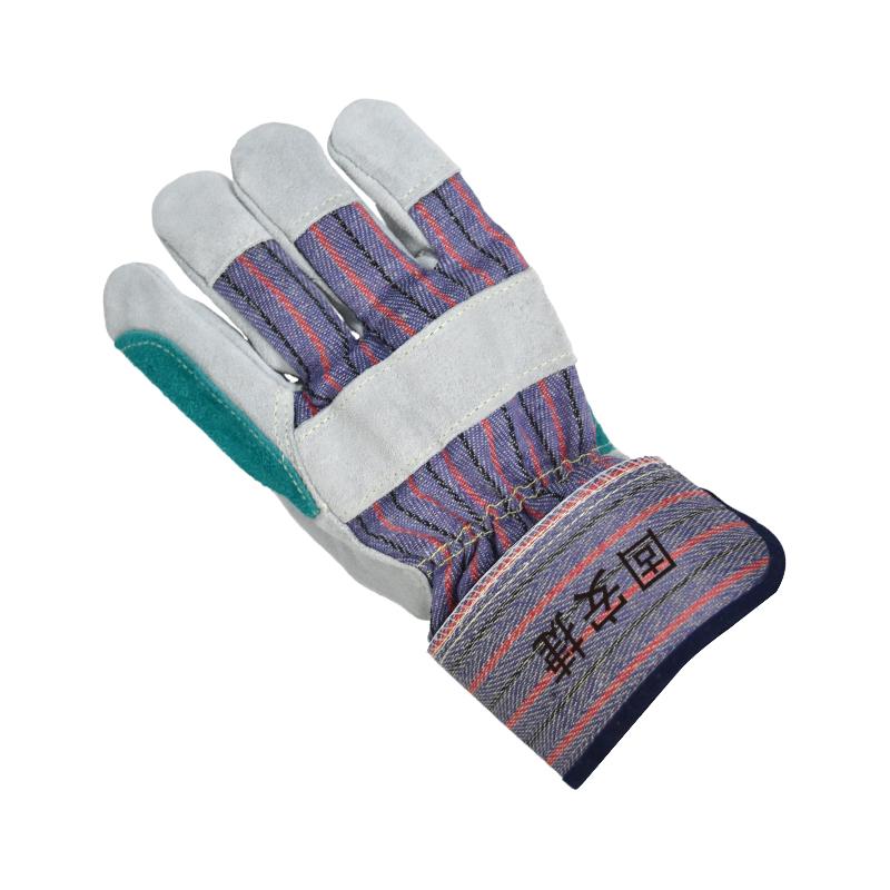 固安捷2113二层加托短皮手套