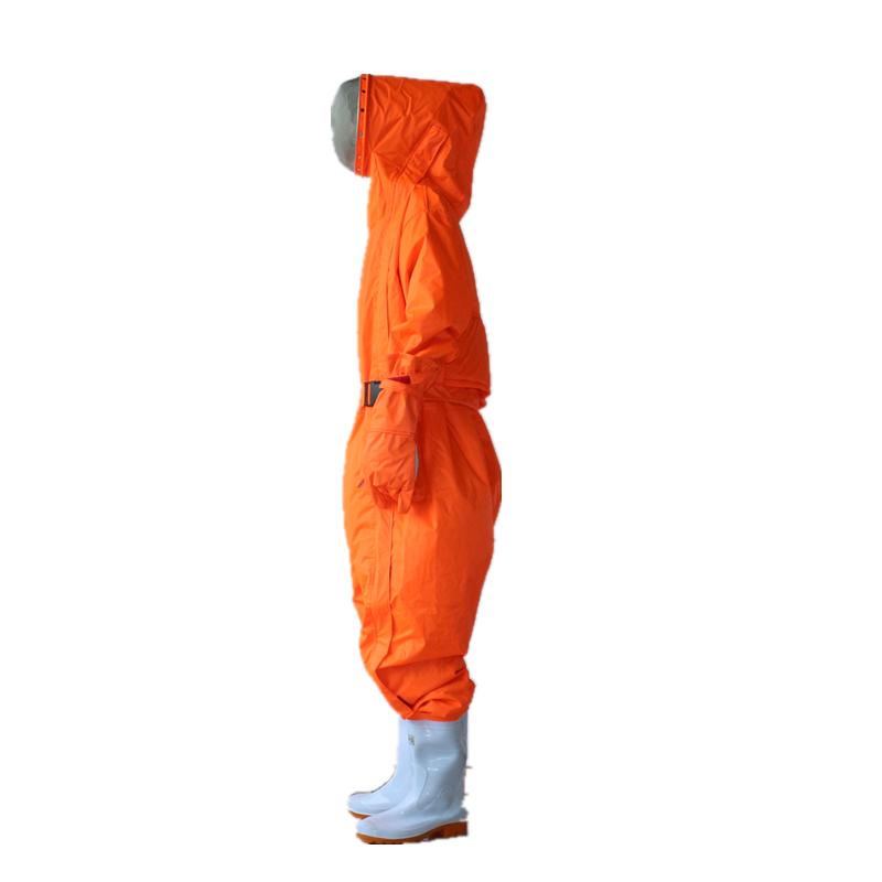 美康MKF-09-4A一代桔红色防蜂服-M