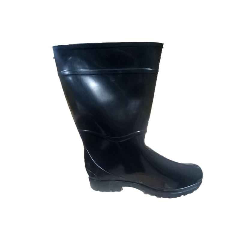 安斯盾中筒水靴 黑色39