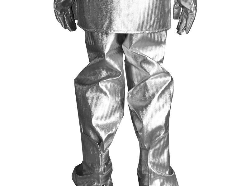 安百利ABL-F01铝箔分体隔热服(1000型 头罩 上衣 裤子 手套 脚罩)-XXL
