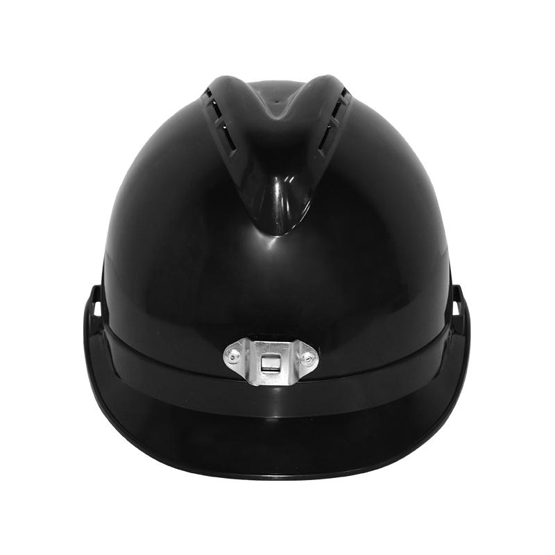 桉叶 AY9805K防静电矿工帽 黑