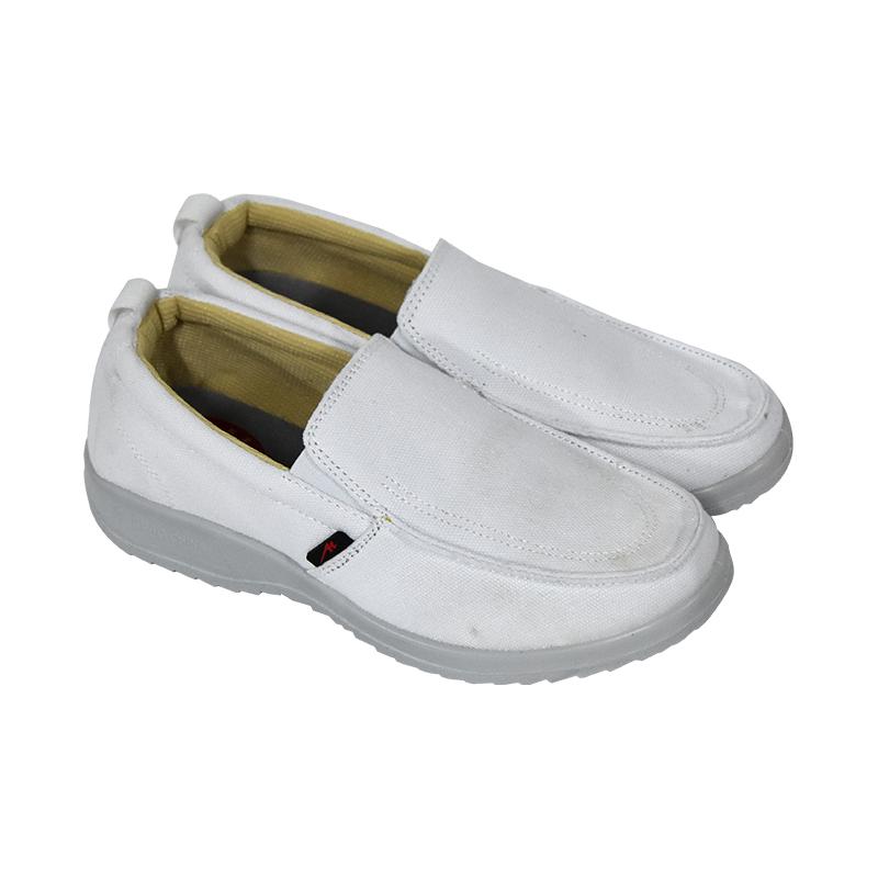 双星MR-J6011防静电布鞋(白)