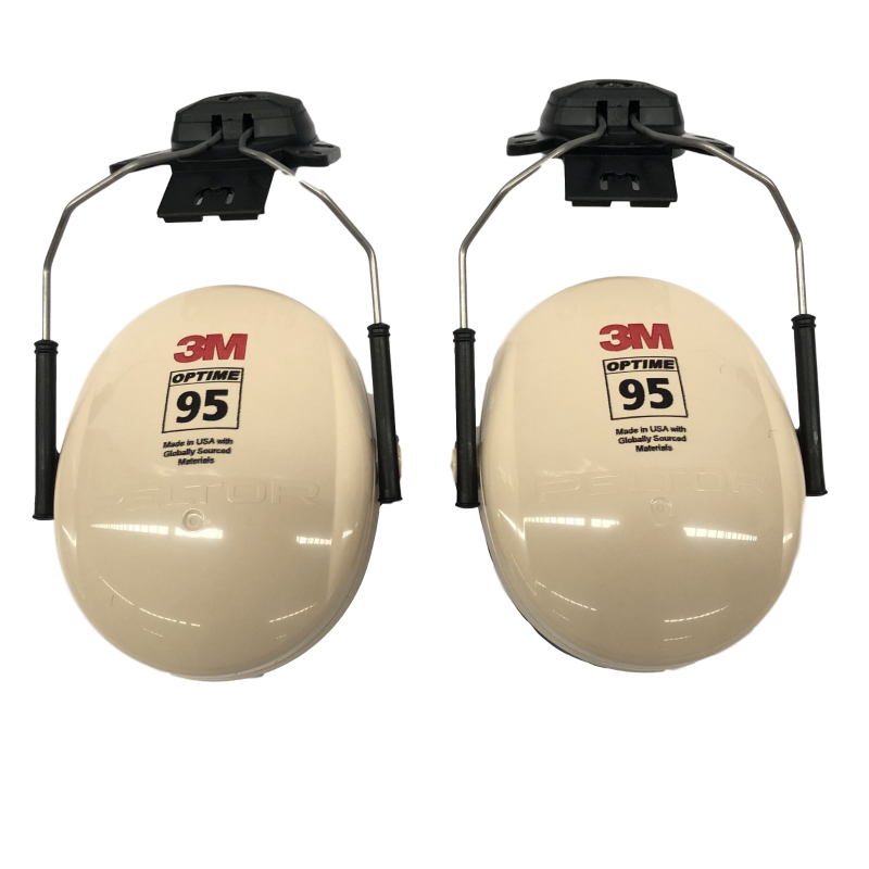 3M PELTOR H6P3E 挂安全帽式耳罩(SNR26dB)