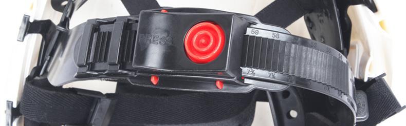 GUANJIE固安捷1532 欧式ABS带透气孔安全帽-白色