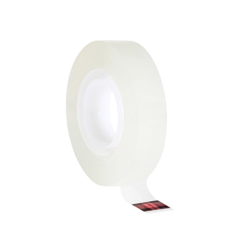 3M 600薄膜封箱胶带 1英寸X72码