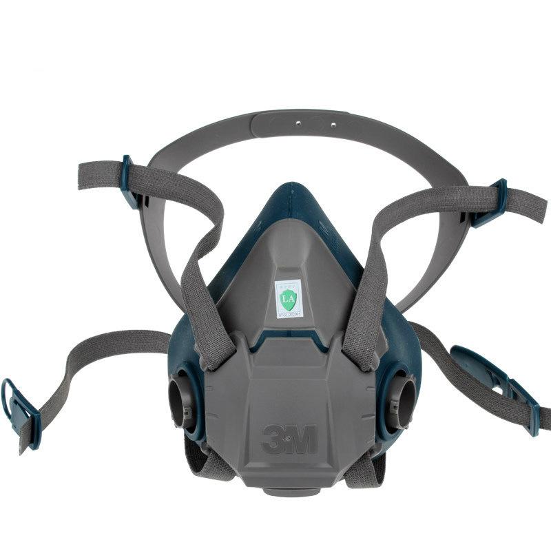 3M 6502硅胶半面型防护面罩(中号)
