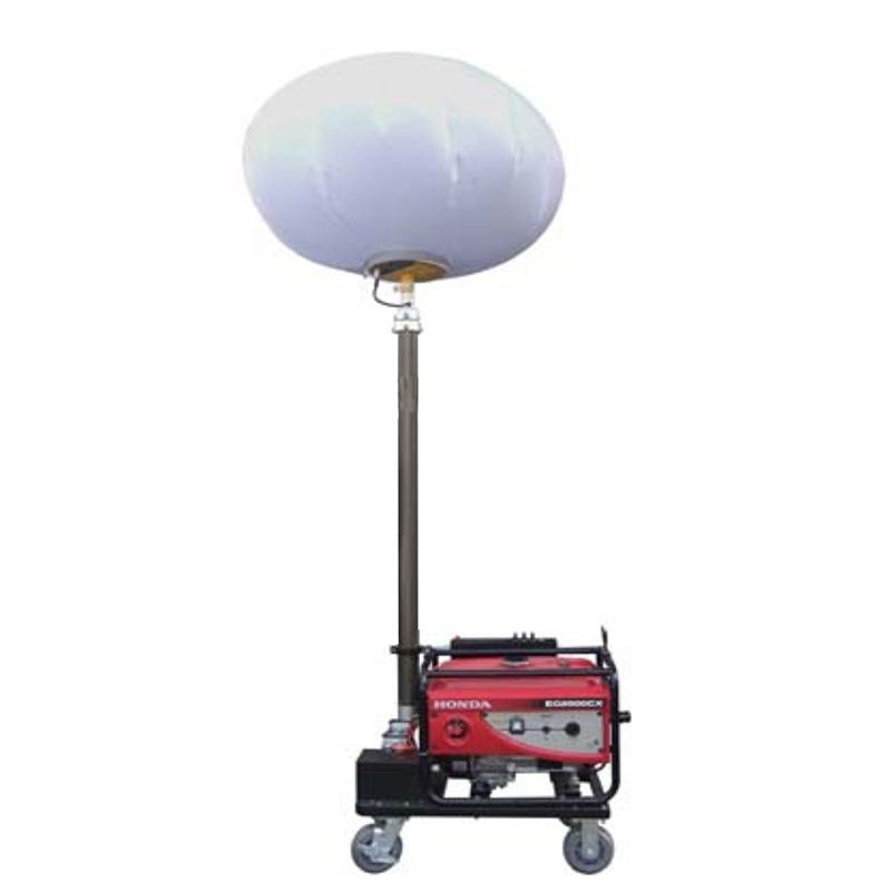 华亮BHL668 球型照明灯 1*1000W金卤灯2000W本田发电机