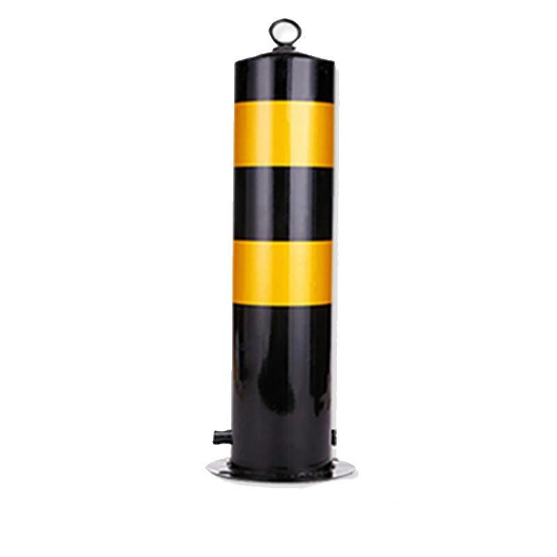 力畅 60cm黑黄反光铁立柱(标准)