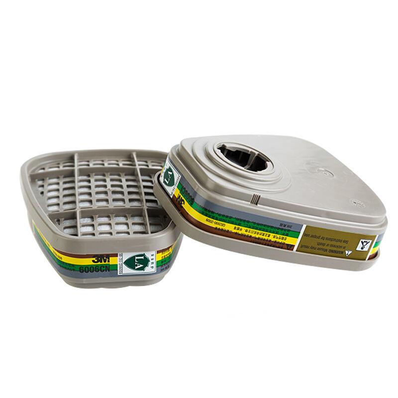 3M 6006CN 多用气体/ 蒸气滤毒盒